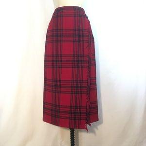 Eddie Bauer Wrap Blanket Skirt 10